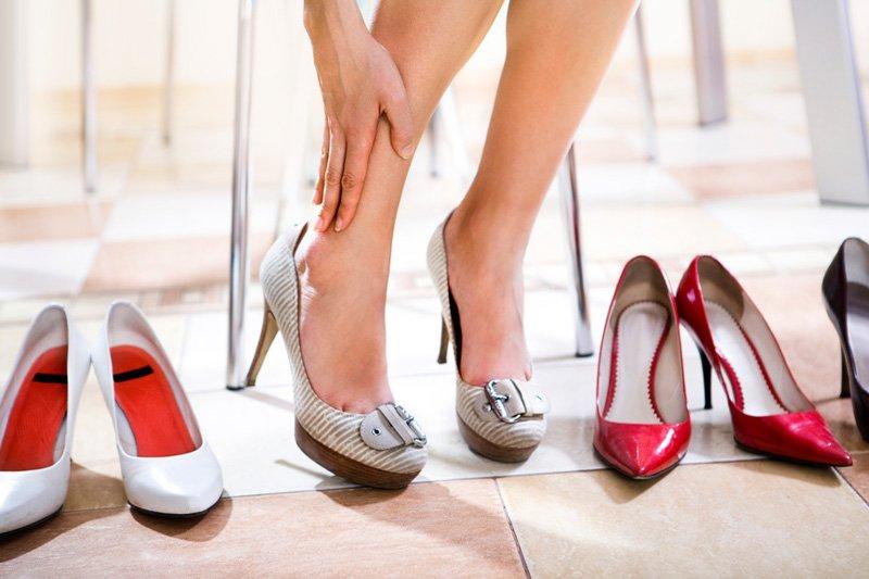 Запреты для беременных каблуки