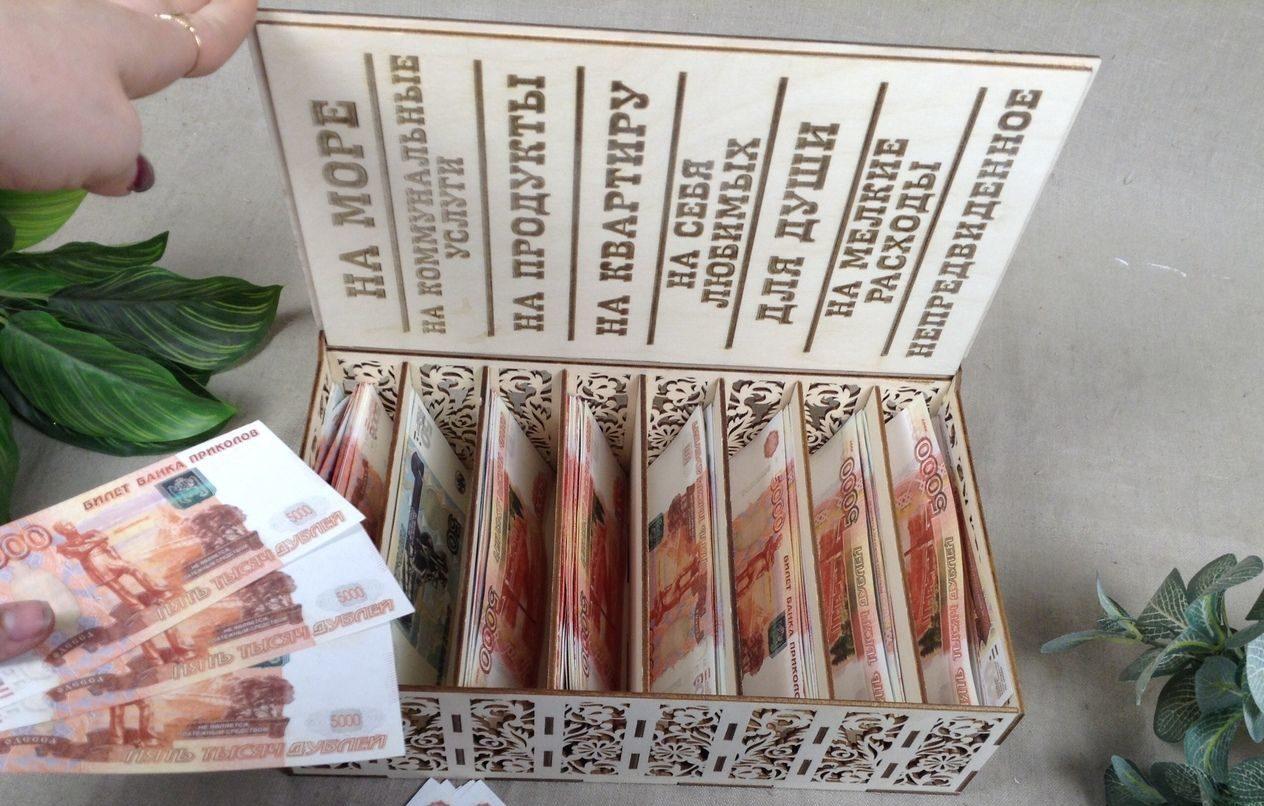 Шкатула для денег