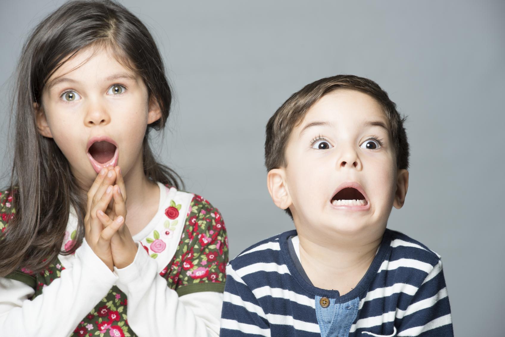 Дети удивляются