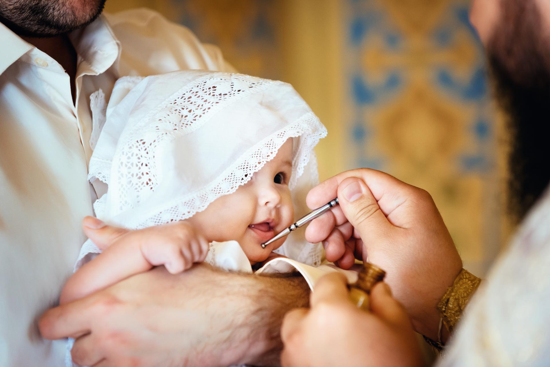 Крещения ребенка