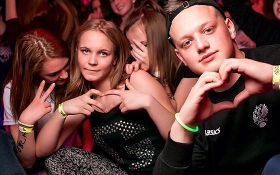 Подростковые вечеринки