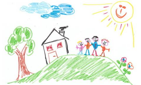 О каких тайнах расскажет детский рисунок его семьи