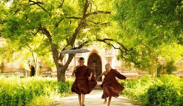 Тибет дети