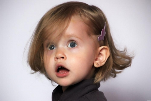 Виталия Корниенко в 2 года