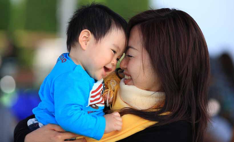 ребенок в Японии