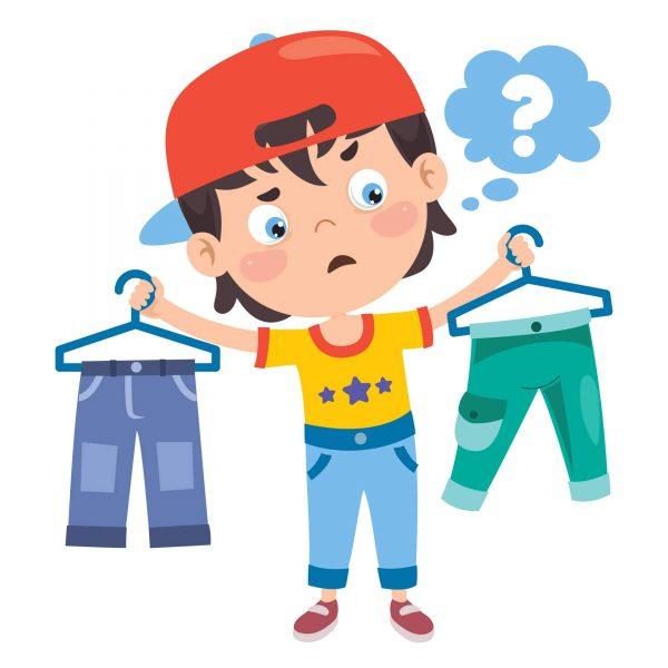Одеваем ребенка без слез и капризов