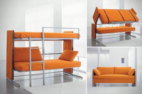 Обустройство детской комнаты: 2в1 - и диван, и кровать