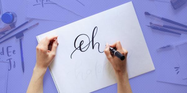 Как научить ребенка писать красиво играючи - каллиграфический почерк за летние каникулы
