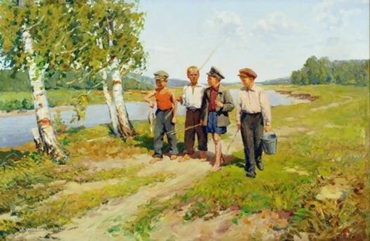 Счастливое советское детство в картинах - ностальгические воспоминания