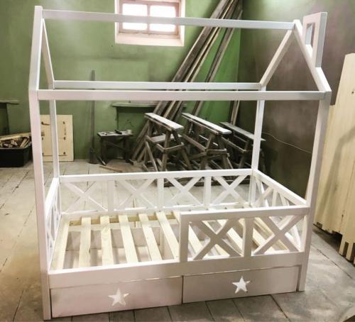 Кровать-домик своими руками
