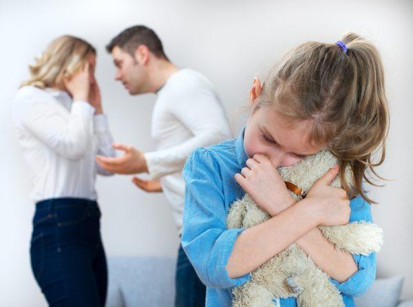 Развод радителей и дети