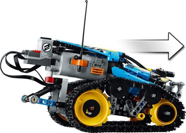 Захватывающие трюки и невероятные повороты со скоростным вездеходом от LEGO Technic