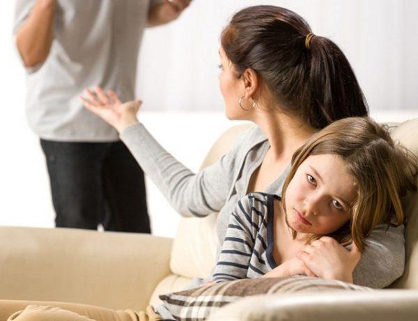Развод родителей и дети