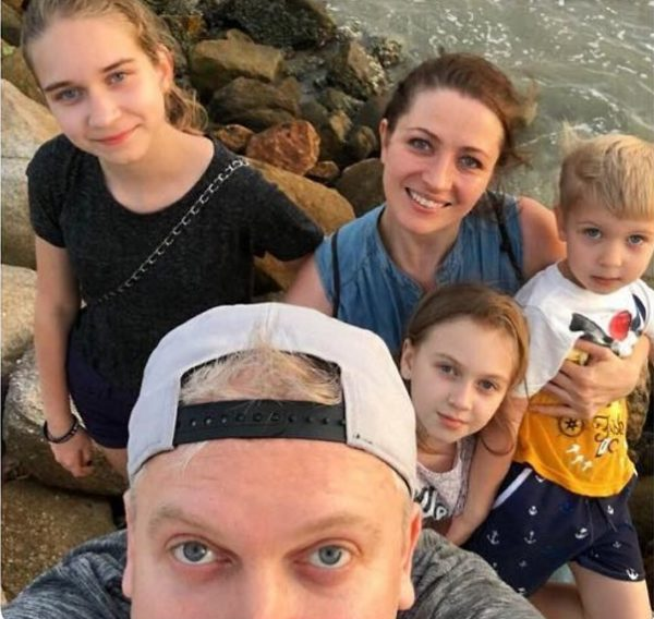 Семья Светлаковых