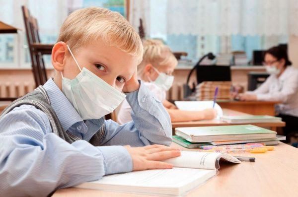 Медицинская маска для детей