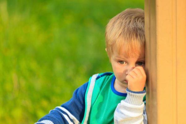Ребенок-трусишка