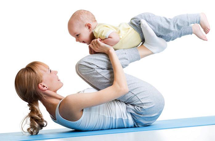 Фитнес с новорожденным