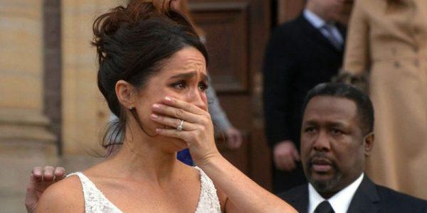 Меган Маркл плачет