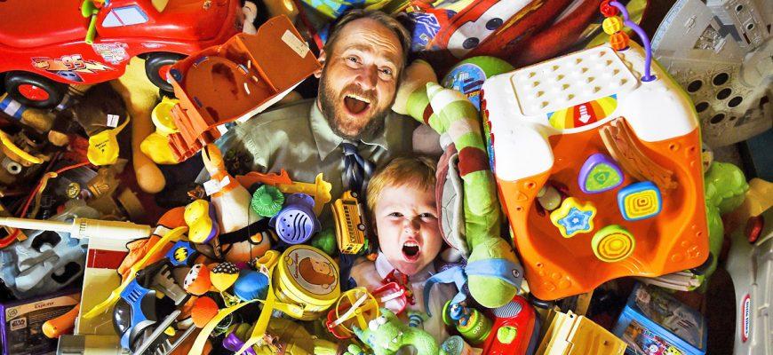 ненужные игрушки