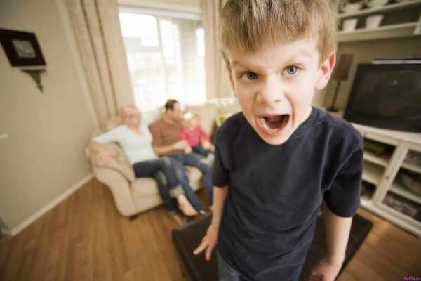 Агрессивный мальчик