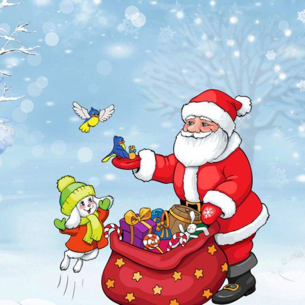 Рисунок Дед Мороз