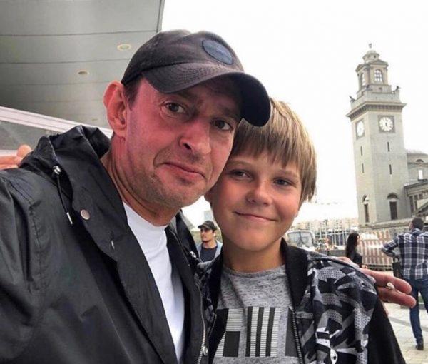 Константин Хабенский и его сын Иван
