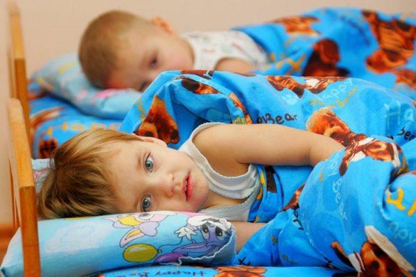 ребенок в детском саду не спит