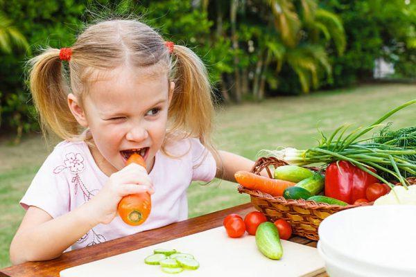 дети-вегетариянцы