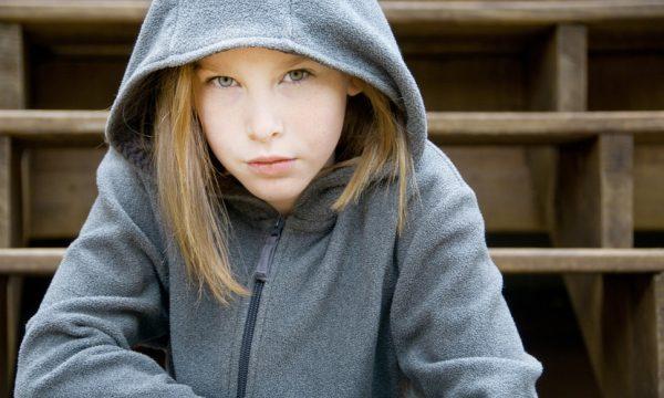 Девочка в байке