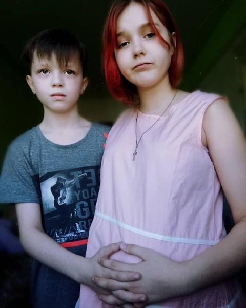 Дарья Суднишникова с другом Ваней