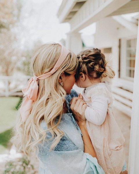 Дочь с мамой