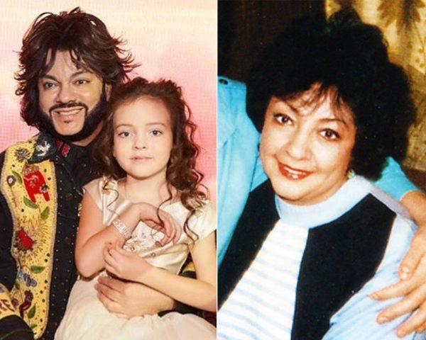 дочь Киркорова похожа на его мать