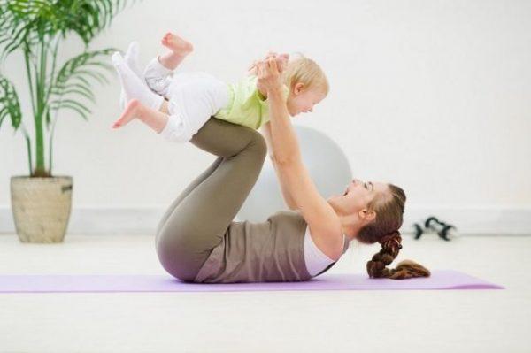 упражнения с детьми
