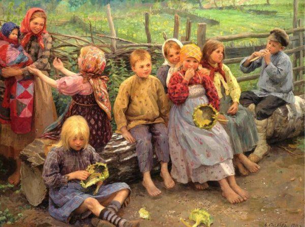 дети на Руси