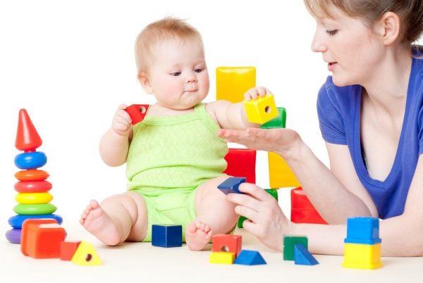 развитие малышей до 1 года