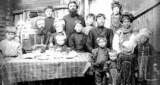 Многодетная семья Федора Васильева