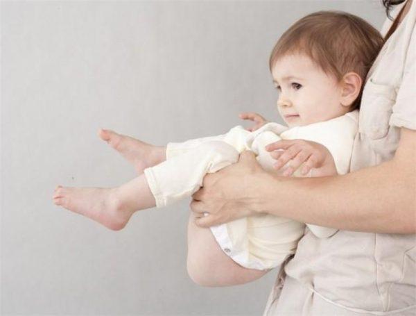 высаживание малыша