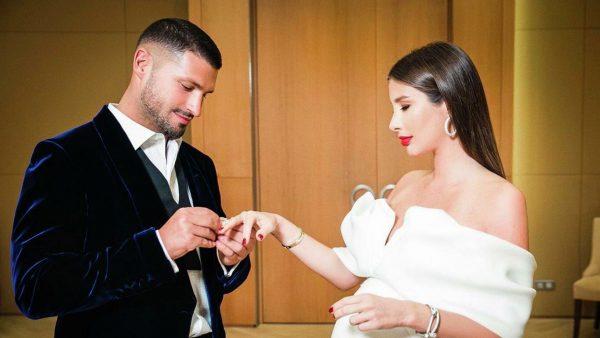 Свадьба Кети Топурия и Льва Деньгова