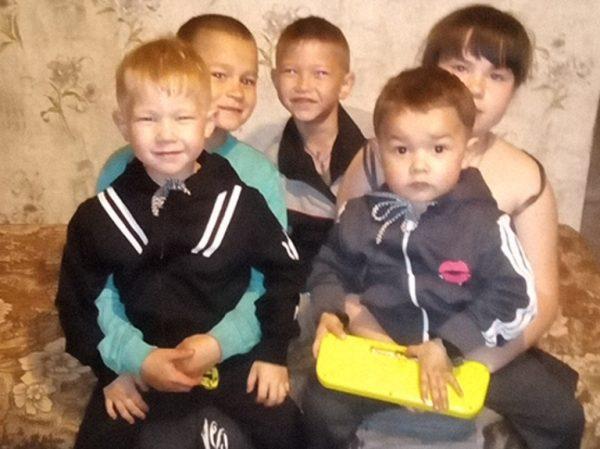 Пять детей Елены