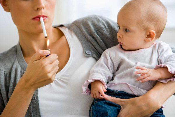 Вредные привычки родителей