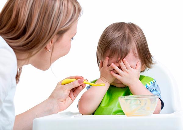Малыш не хочет кушать