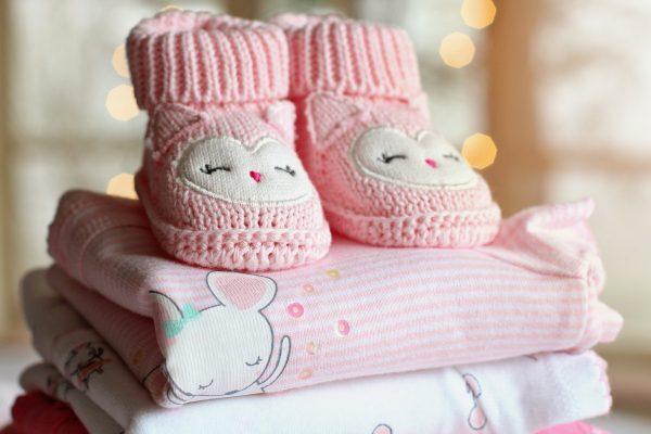 Покупка вещей для новорожденного
