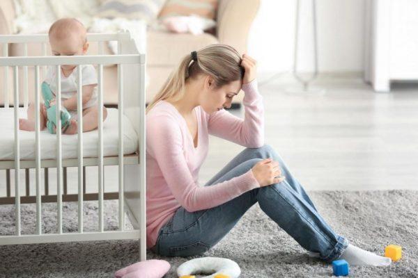 депрессия мамы