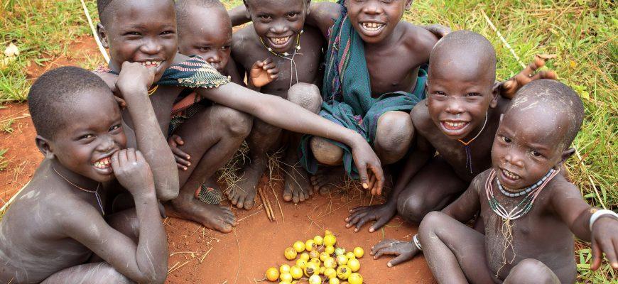 детство африканских детей