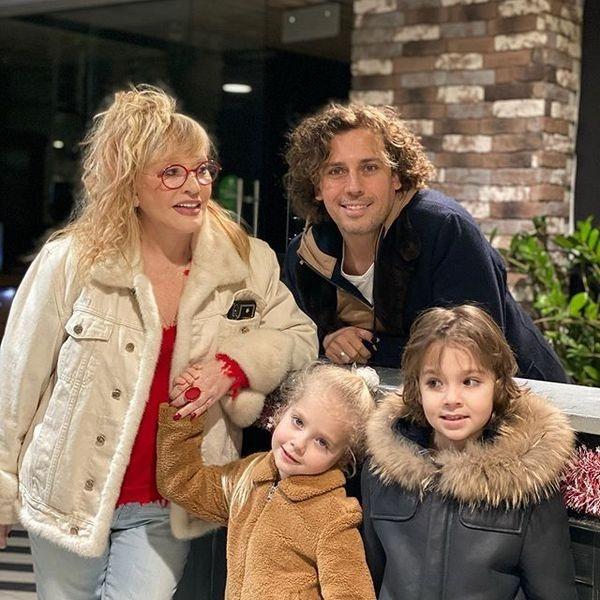 Семья Пугачевой и Галкина с детьми