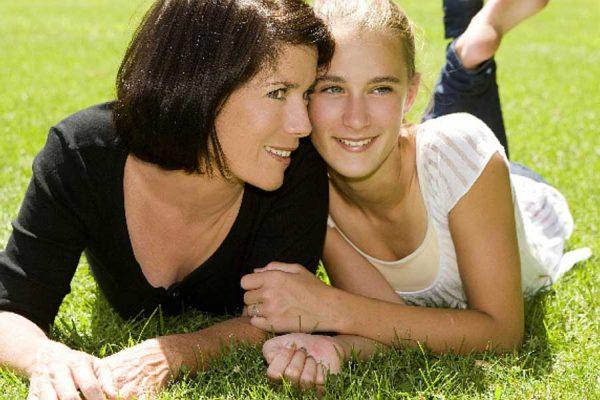 мама и подросток
