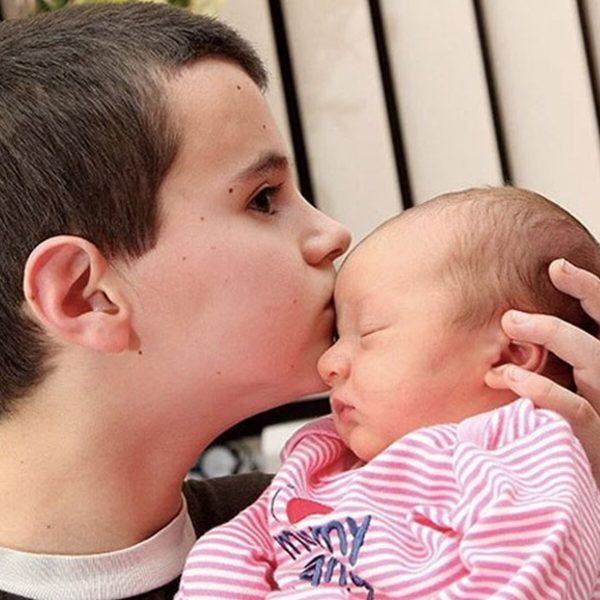 Альфи и его ребенок