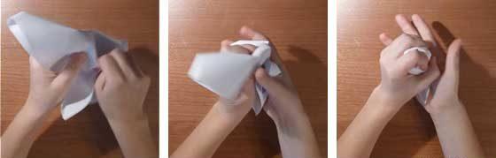 Комки бумаги от злости