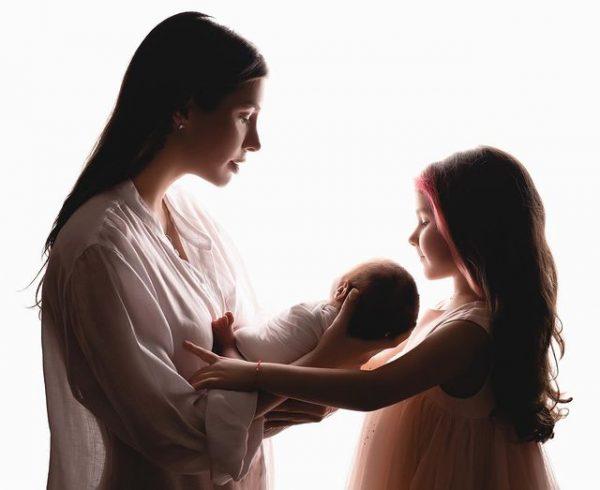 Кети Топурия с детьми