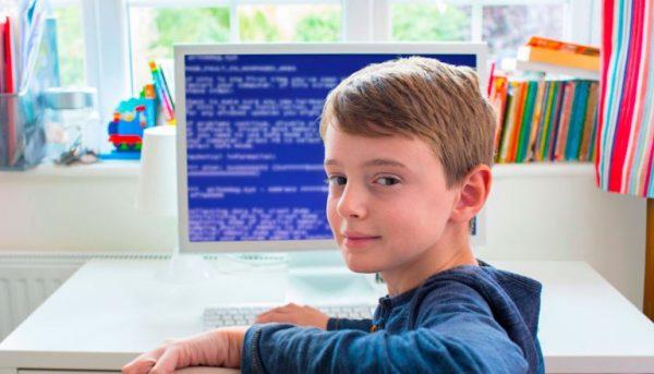 Мальчик программист